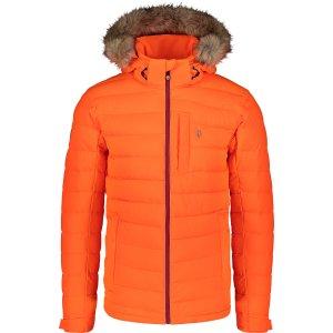 Pánská zimní bunda NORDBLANC STATIC NBWJM7307 ŠOKUJÍCÍ ORANŽOVÁ