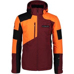 Pánská lyžařská bunda NORDBLANC NBWJM6900 ZAPRÁŠENÁ VÍNOVÁ