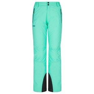 Dámské lyžařské kalhoty KILPI GABONE-W NL0021KI TYRKYSOVÁ