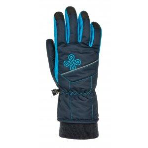 Dětské lyžařské rukavice KILPI KENNY-J NJ0050KI TMAVĚ MODRÁ