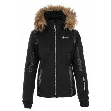 Dámská lyžařská bunda KILPI MIRSEL-W NL0023KI ČERNÁ