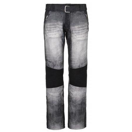 Dámské softshellové kalhoty KILPI JEANSO-W NLX079KI ČERNÁ