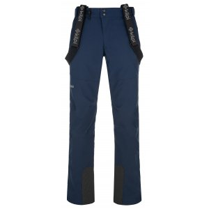 Pánské softshellové kalhoty KILPI RHEA-M NMX030KI TMAVĚ MODRÁ