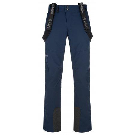 Pánské softshellové kalhoty KILPI RHEA-M NM0030KI TMAVĚ MODRÁ