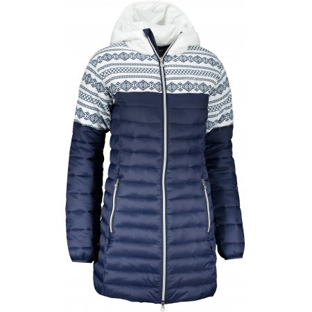 Dámský kabát ALTISPORT RENA TMAVĚ MODRÁ