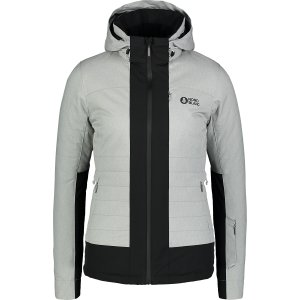 Dámská lyžařská bunda NORDBLANC CHERISH NBWJL6925 ŠEDÝ MELÍR