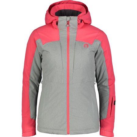 Dámská lyžařská bunda NORDBLANC MATURE NBWJL6923 JEMNÁ RŮŽOVÁ