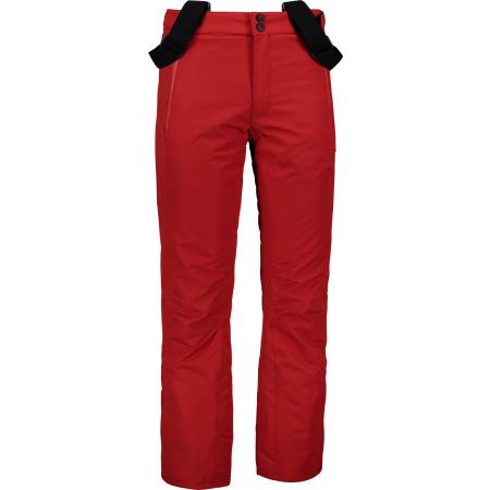 Pánské lyžařské kalhoty NORDBLANC TEND NBWP6954 ENERGICKÁ ČERVENÁ