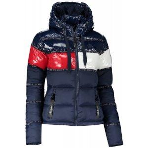 Dámská zimní bunda ALTISPORT TIMOTEA TMAVĚ MODRÁ