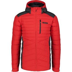 Pánská zimní bunda NORDBLANC SHALE NBWJM6910 ČERVENÁ