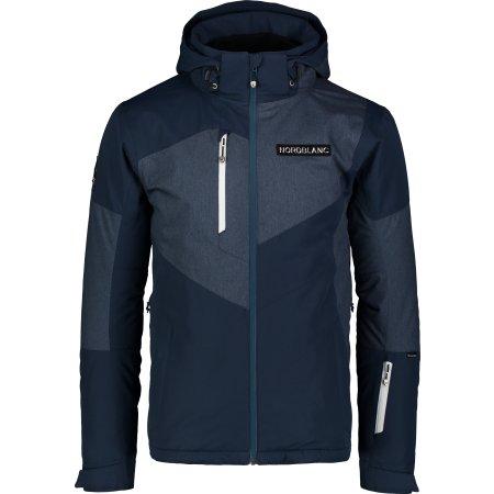 Pánská lyžařská bunda NORDBLANC MANFUL NBWJM7300 TMAVĚ MODRÁ