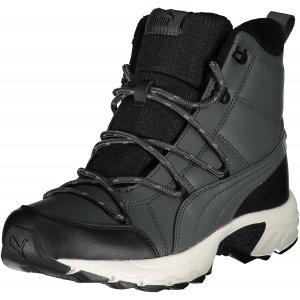 Pánské zimní boty PUMA AXIS TR BOOT WTR MU BLACK SHADOW/WHITE/AGED SILVER