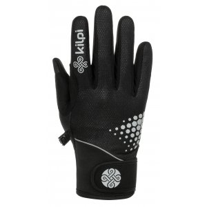 Softshellové rukavice KILPI NEDEL-U NU0023KI ČERNÁ