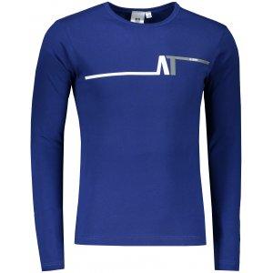 Pánské triko s dlouhým rukávem ALTISPORT ALM037119 KRÁLOVSKÁ MODRÁ
