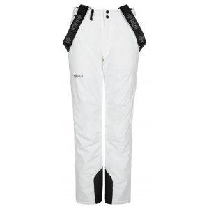 Dámské lyžařské kalhoty KILPI ELARE-W NL0046KI BÍLÁ