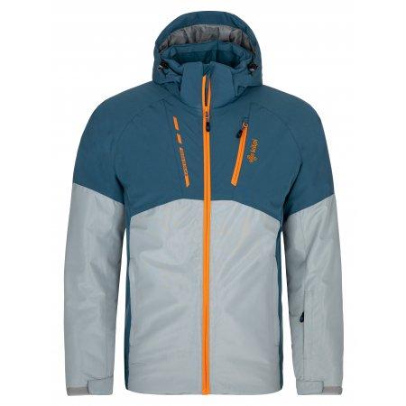 Pánská lyžařská bunda KILPI TAUREN-M NM0035KI SVĚTLE MODRÁ