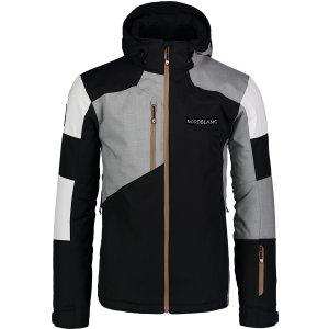 Pánská lyžařská bunda NORDBLANC COPPER NBWJM6900 CRYSTAL ČERNÁ