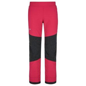 Dětské softshellové kalhoty KILPI RIZO-J NJ0012KI RŮŽOVÁ
