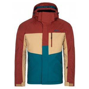 Pánská lyžařská bunda KILPI OBER-M NM0037KI TYRKYSOVÁ