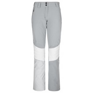 Dámské lyžařské kalhoty KILPI TYREE-W NL0035KI SVĚTLE ŠEDÁ