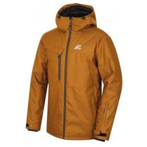 Pánská lyžařská bunda HANNAH SANFORD II GOLD BROWN MEL