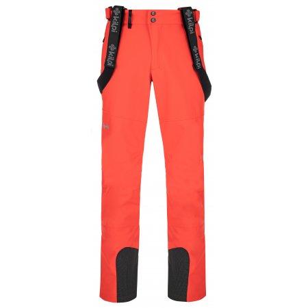 Pánské softshellové kalhoty KILPI RHEA-M NM0030KI ČERVENÁ