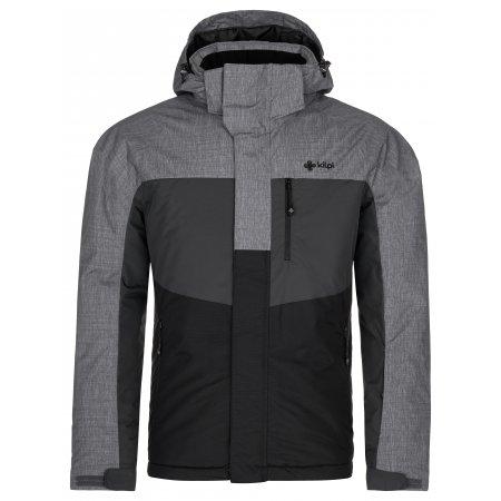 Pánská lyžařská bunda KILPI OBER-M NM0037KI ČERNÁ