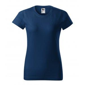 Dámské triko MALFINI BASIC 134 PŮLNOČNÍ MODRÁ