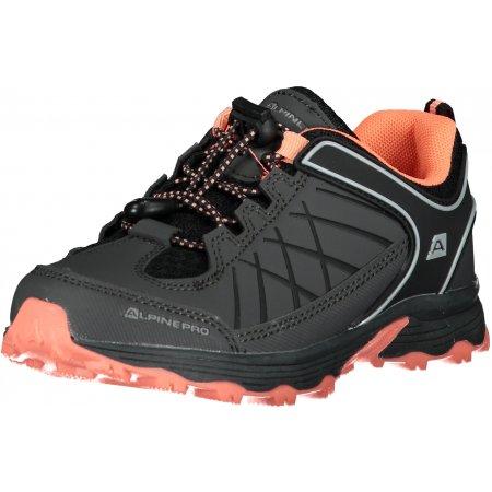 Dětské boty ALPINE PRO NAO KBTT282 TMAVĚ ŠEDÁ