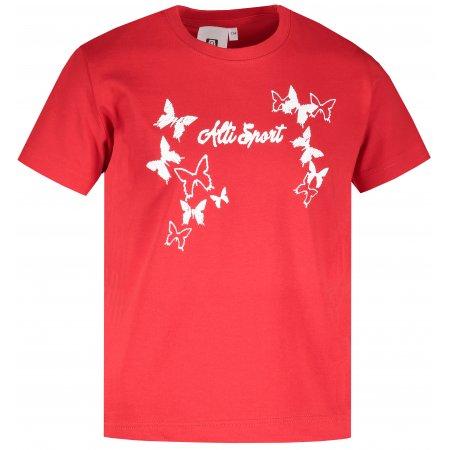 Dětské triko ALTISPORT ALK011138 ČERVENÁ