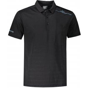 Pánské funkční triko s límečkem PEAK POLO T SHIRT FW602567 BLACK