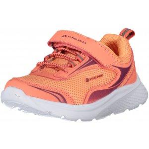 Dětské boty ALPINE PRO LENIE KBTT284 ORANŽOVÁ