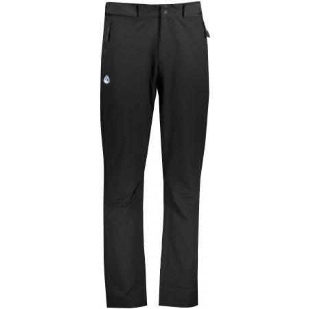 Pánské softshellové kalhoty ALPINE PRO MUNIK MPAT488 ČERNÁ