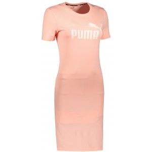Dámské šaty PUMA ESS SLIM TEE DRESS APRICOT BLUSH