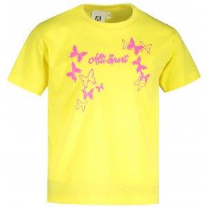 Dětské triko ALTISPORT ALK011138 CITRÓNOVÁ