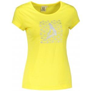Dámské triko ALTISPORT ALW040122 CITRÓNOVÁ