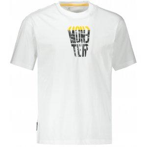 Pánské triko PEAK ROUND NECK T SHIRT FW602731 WHITE