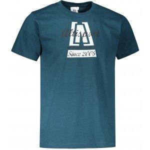 Pánské triko ALTISPORT ALM047129 PETROLEJOVÁ