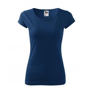 Dámské triko MALFINI PURE 122 PŮLNOČNÍ MODRÁ