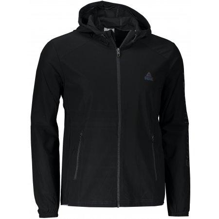 Pánská běžecká bunda PEAK KNITTED JACKET FW602297 BLACK