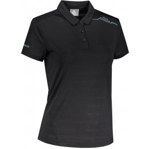 Dámské funkční triko s límečkem PEAK POLO T SHIRT FW602568 BLACK