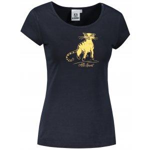 Dámské triko ALTISPORT ALW052122 NÁMOŘNÍ MODRÁ