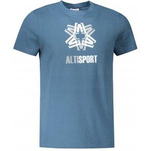 Pánské triko ALTISPORT ALM046129 DENIM