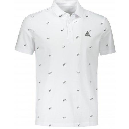 Pánské triko s límečkem PEAK POLO T SHIRT FW602271 WHITE