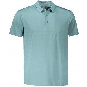 Pánské funkční triko s límečkem PEAK POLO T SHIRT FW602569 CERAM GREEN