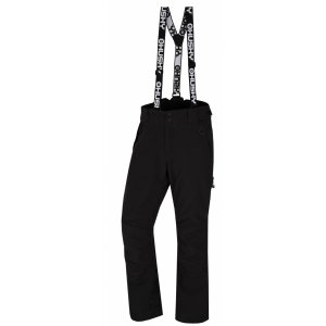 Pánské zimní softshellové kalhoty HUSKY GALTI M ČERNÁ