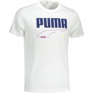 Pánské triko PUMA REBEL TEE PUMA WHITE