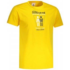 Pánské triko ALTISPORT ALM049129 ŽLUTÁ