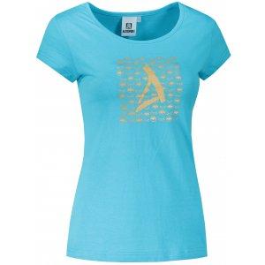 Dámské triko ALTISPORT ALW040122 TYRKYSOVÁ