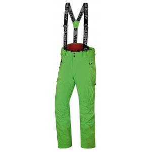 Pánské zimní kalhoty HUSKY MITALY M NEONOVĚ ZELENÁ